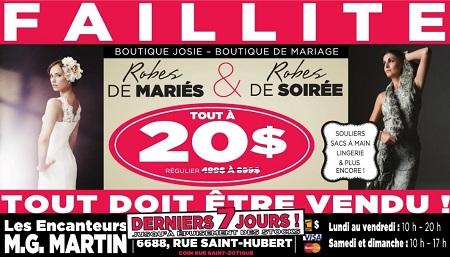 Montrealaubaine.ca - Vente Robes Mariées Tout à 20$