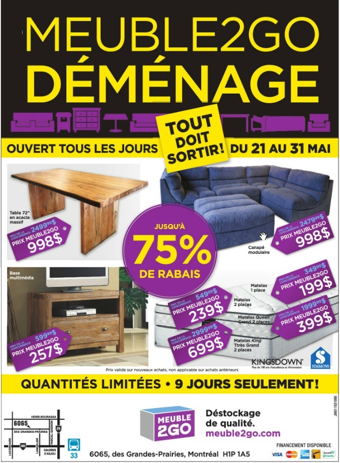 Vente d 39 entrep t de meubles 75 for Entrepot liquidation