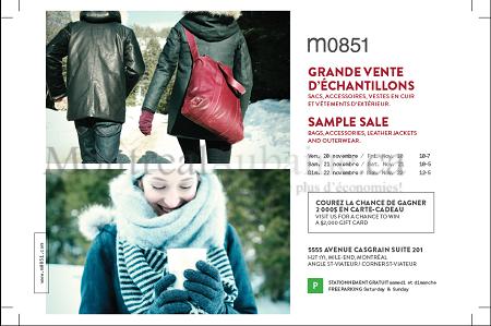 Montrealaubaine.ca - M0851 Sample Sale